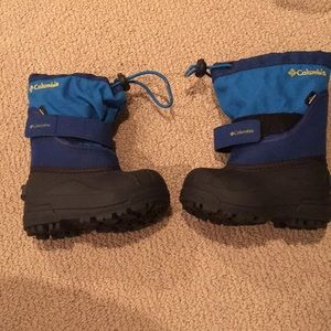 Brand New Toddler Boy Columbia Snow Boots